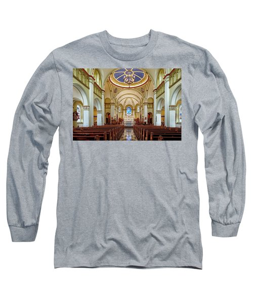 Long Sleeve T-Shirt featuring the photograph Chapel Of The Immaculate Conception by Jim Thompson