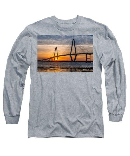 Charleston Sun Setting  Long Sleeve T-Shirt