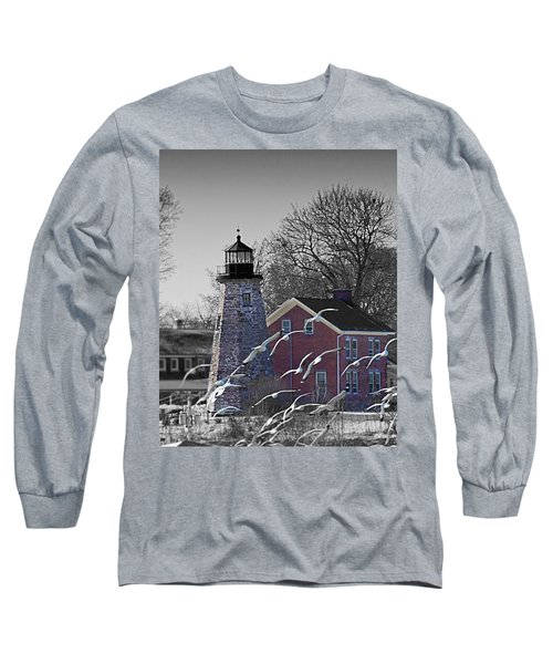The Charlotte Genesee Lighthouse Long Sleeve T-Shirt