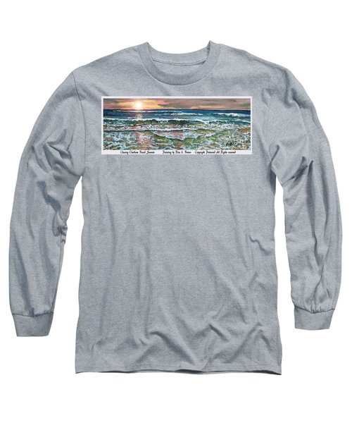 Chasing Chatham Beach Sunsets Long Sleeve T-Shirt by Rita Brown