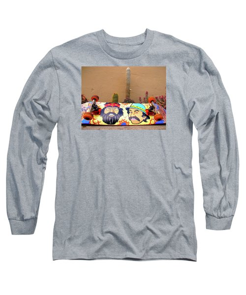 Long Sleeve T-Shirt featuring the photograph Cheech N Chong  by John King