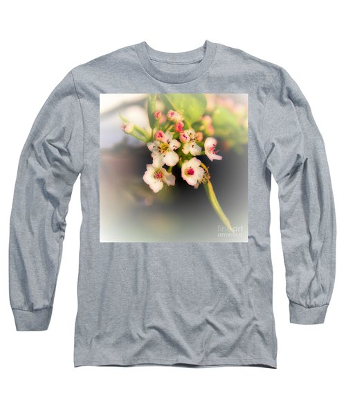 Cherry Blossom Flowers Long Sleeve T-Shirt