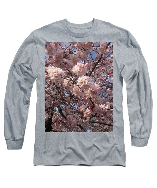 Cherry Blossoms For Lana Long Sleeve T-Shirt by Emmy Marie Vickers