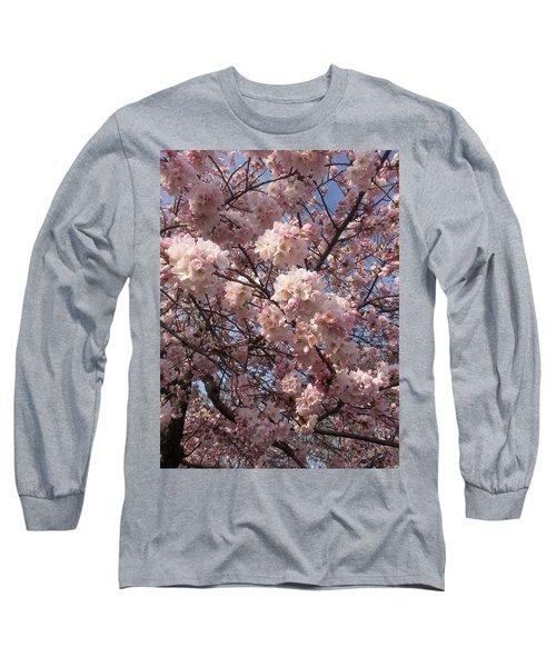 Cherry Blossoms For Lana Long Sleeve T-Shirt
