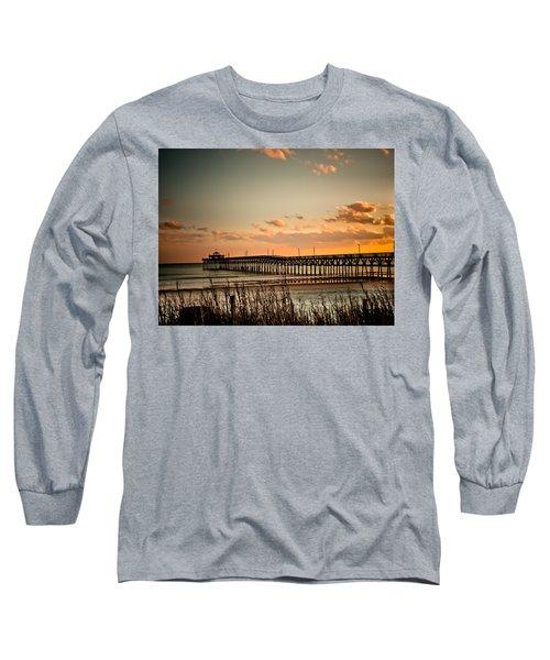 Cherry Grove Pier Myrtle Beach Sc Long Sleeve T-Shirt