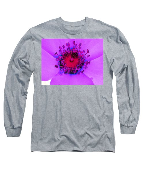 Cherry Pie Rose - Photopower 2827 Long Sleeve T-Shirt