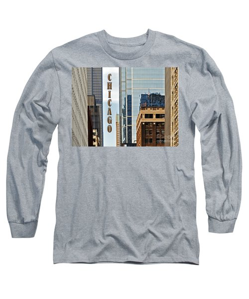 Chicago  Long Sleeve T-Shirt by Lydia Holly