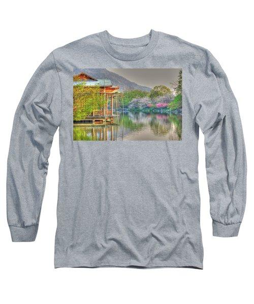 China Lake House Long Sleeve T-Shirt