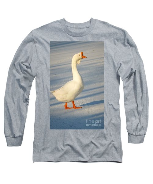 Chinese Goose Winter Long Sleeve T-Shirt