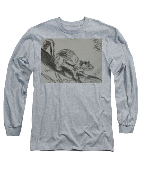 Chipmunk On The Prowl Long Sleeve T-Shirt