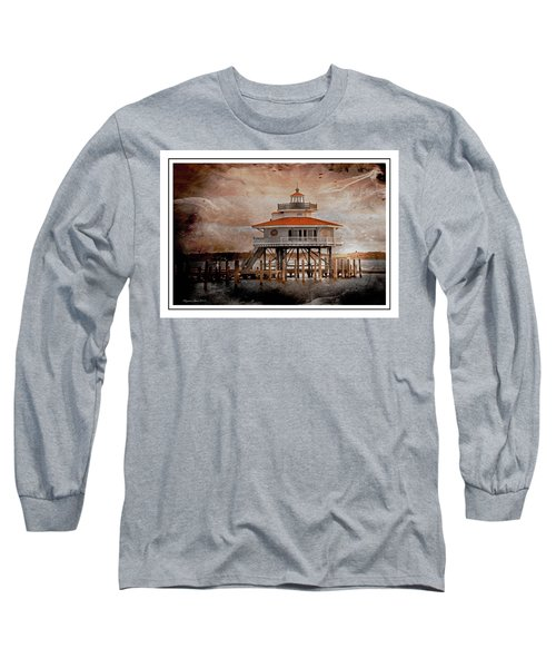 Choptank River Lighthouse Long Sleeve T-Shirt