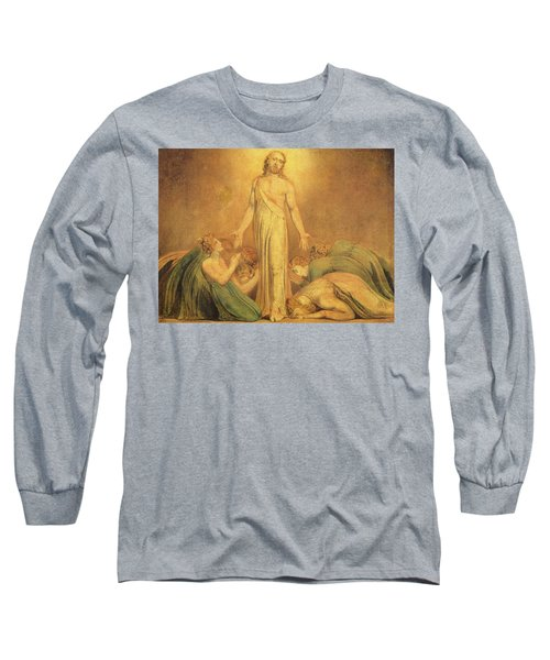 Christ Appearing To The Apostles After The Resurrection Long Sleeve T-Shirt