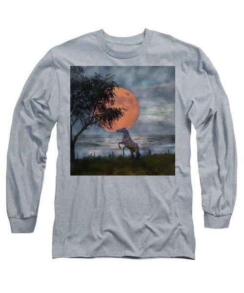 Claiming The Moon Long Sleeve T-Shirt