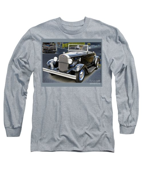 Long Sleeve T-Shirt featuring the photograph Classic Ford by Victoria Harrington
