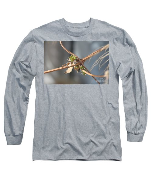 Clematis Vine Long Sleeve T-Shirt