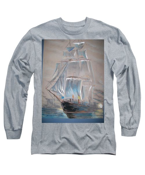 Clipper In Mist Long Sleeve T-Shirt