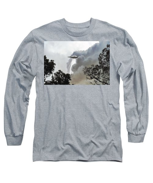 Cloud Cover Long Sleeve T-Shirt by Brian Wallace