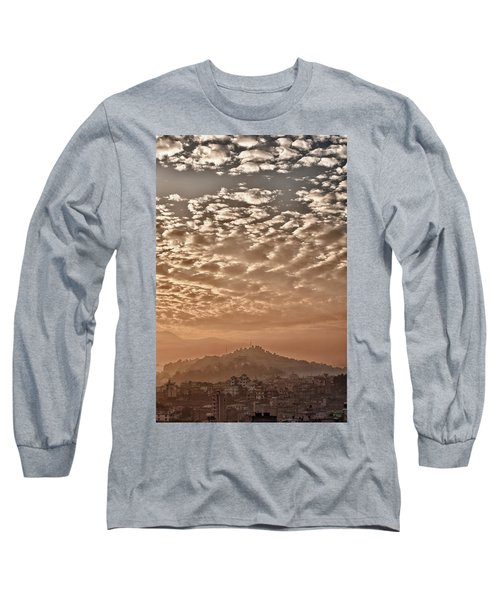 Cloud Over Kathmandu Long Sleeve T-Shirt