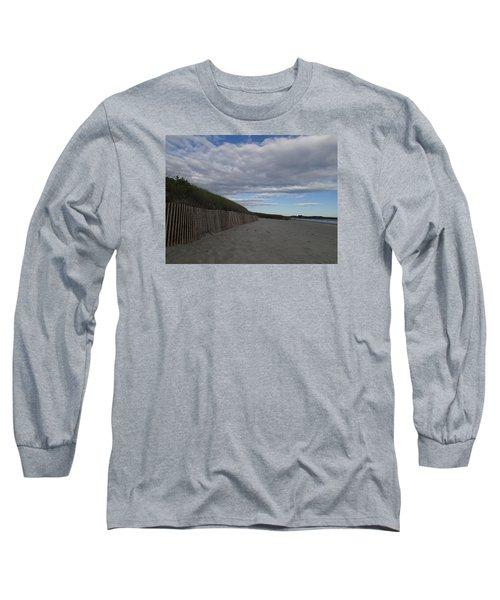 Clouded Beach Long Sleeve T-Shirt
