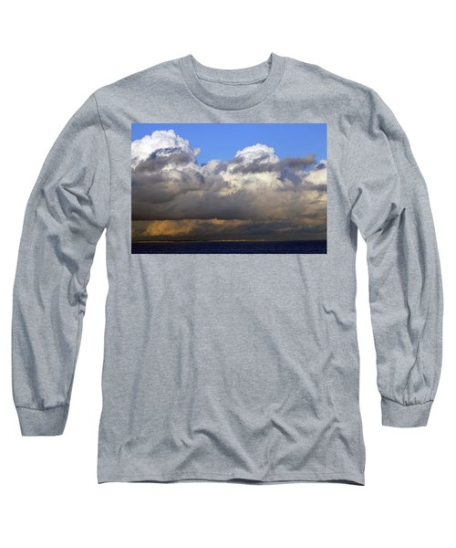 Clouds Over Portsmouth Long Sleeve T-Shirt