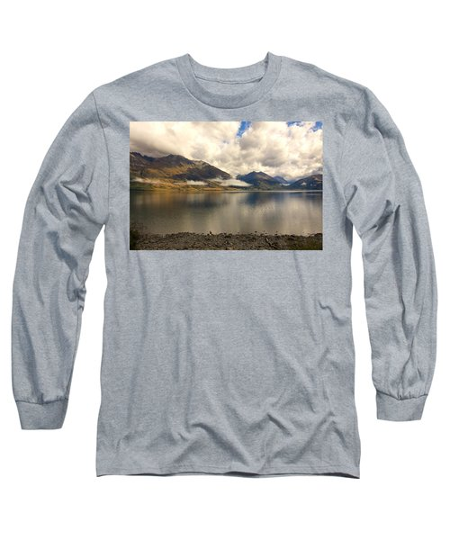 Long Sleeve T-Shirt featuring the photograph Clouds Over Wakatipu #1 by Stuart Litoff