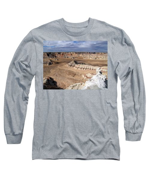 Coal Mine Mesa 11 Long Sleeve T-Shirt by Jeff Brunton