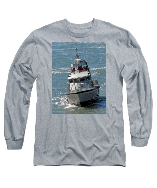 Coast Guard At Depot Bay Long Sleeve T-Shirt