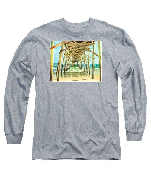 Coastal Cathedral  Long Sleeve T-Shirt