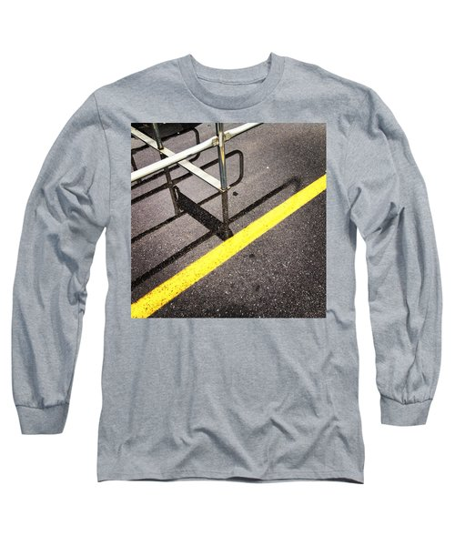 Cold Morning Shopping Long Sleeve T-Shirt