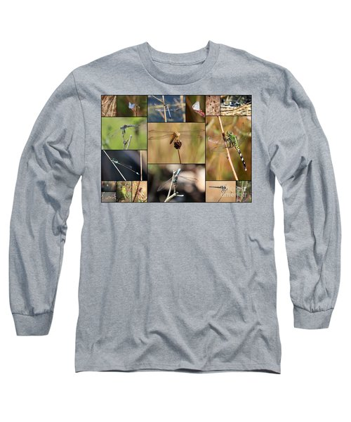 Collage Marsh Life Long Sleeve T-Shirt
