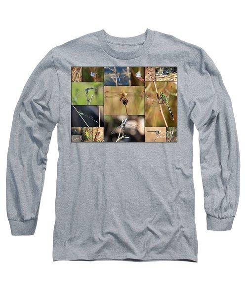 Collage Marsh Life Long Sleeve T-Shirt