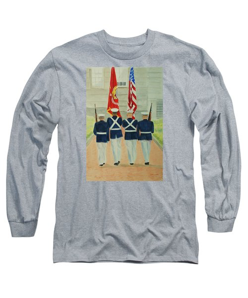 Color Guard Long Sleeve T-Shirt
