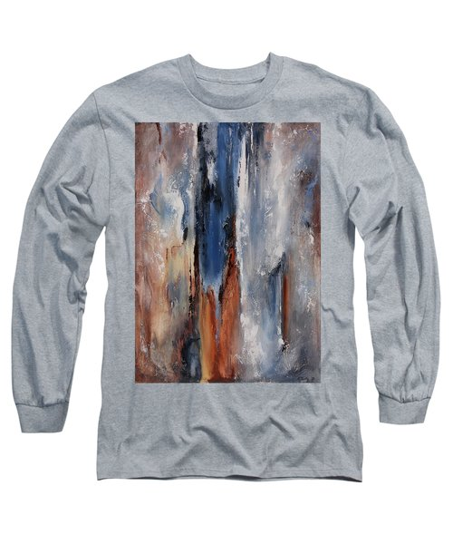 Color Harmony 06 Long Sleeve T-Shirt by Emerico Imre Toth