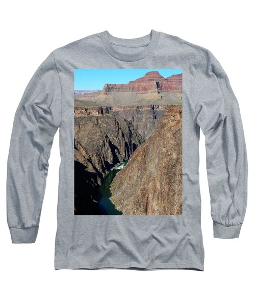 Colorado River From Plateau Point Long Sleeve T-Shirt