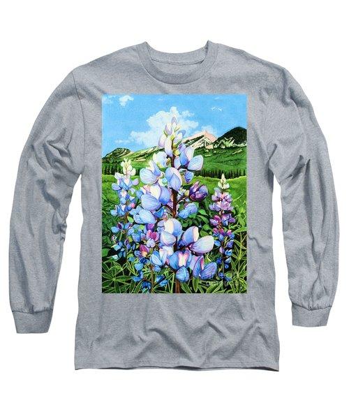 Colorado Summer Blues Long Sleeve T-Shirt