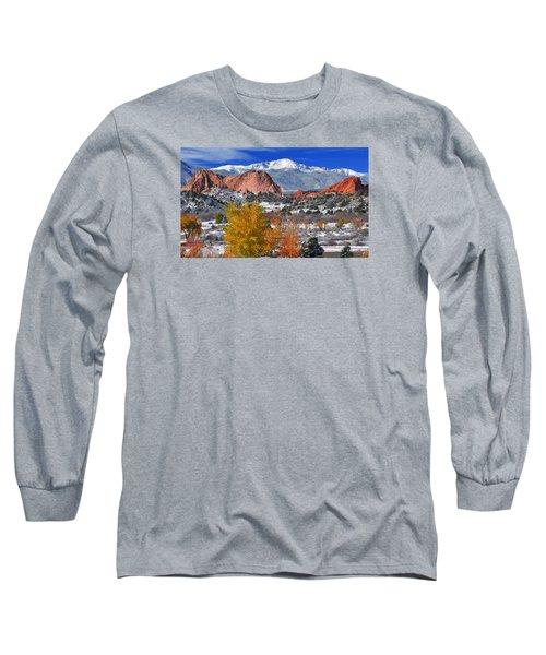 Colorful Colorado Long Sleeve T-Shirt by John Hoffman