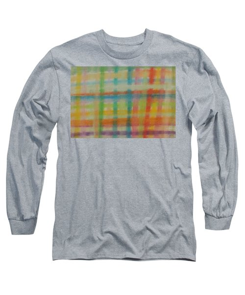 Colorful Plaid Long Sleeve T-Shirt