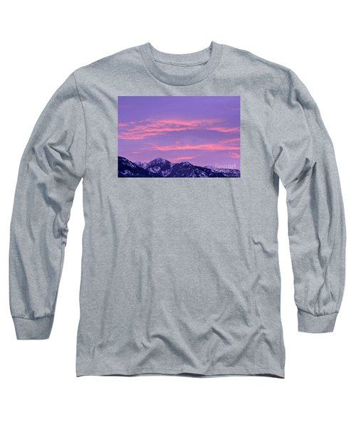 Colorful Sunrise No. 2 Long Sleeve T-Shirt