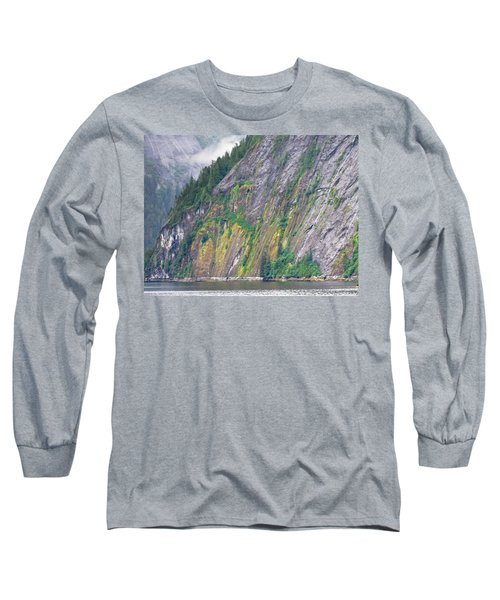Colors Of Alaska - Misty Fjords Long Sleeve T-Shirt