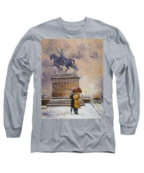 Colors Of Winter - Saint Louis Long Sleeve T-Shirt