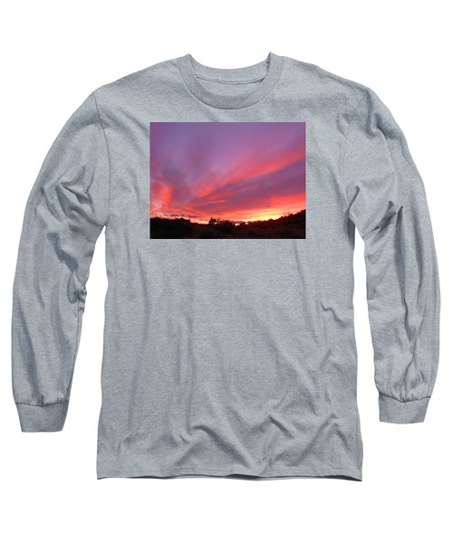 Colourful Arizona Sunset Long Sleeve T-Shirt