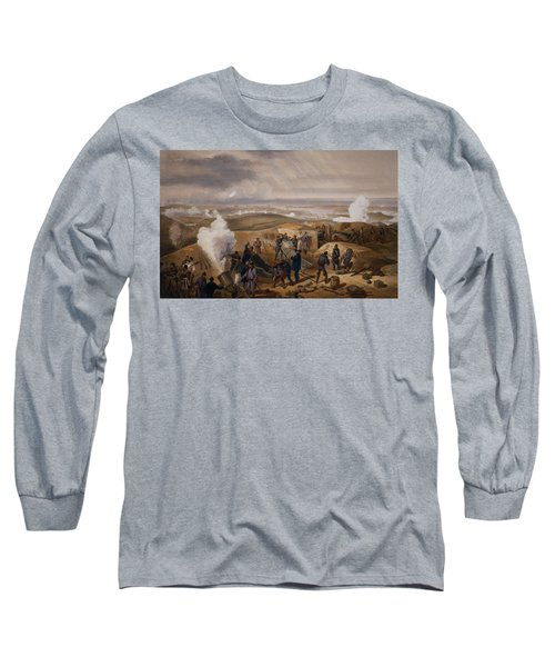 Commissariat Difficulties, Plate Long Sleeve T-Shirt
