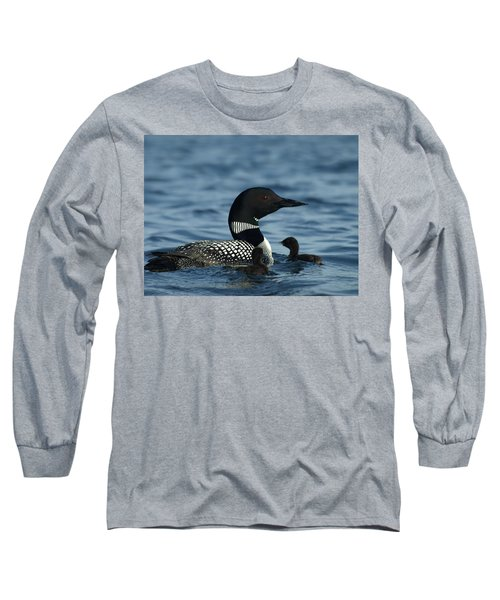 Common Loon Family Long Sleeve T-Shirt
