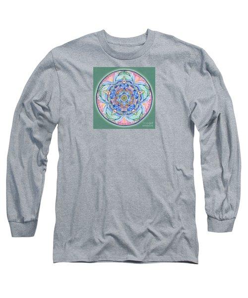 Compassion Mandala Long Sleeve T-Shirt