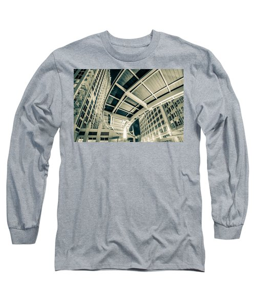 Long Sleeve T-Shirt featuring the photograph Complex Architecture by Alex Grichenko