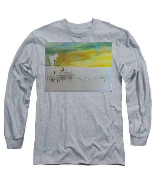 Composition Long Sleeve T-Shirt by Mary Ellen Anderson