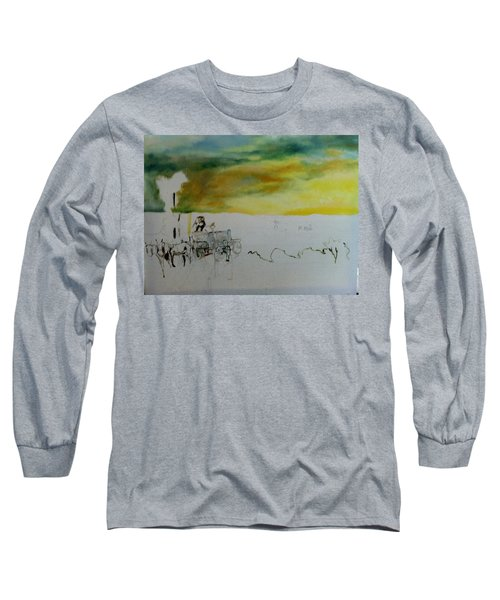 Composition2 Long Sleeve T-Shirt by Mary Ellen Anderson