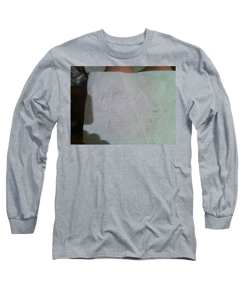 Conceptualizing - 1 Long Sleeve T-Shirt by Mary Ellen Anderson