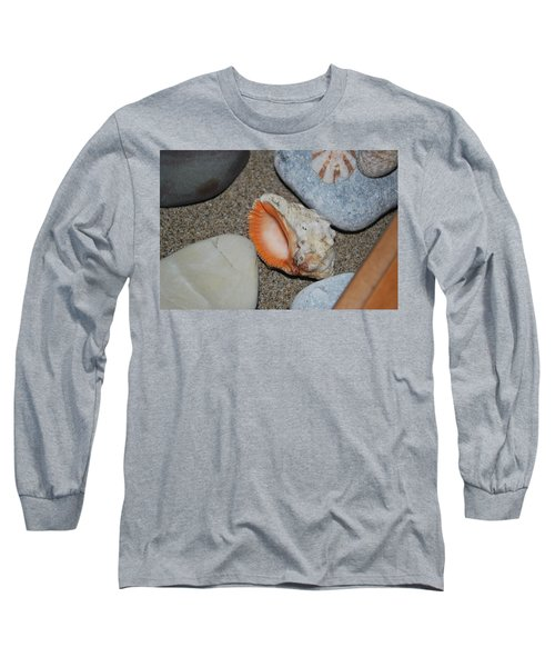 Long Sleeve T-Shirt featuring the photograph Conch 1 by George Katechis