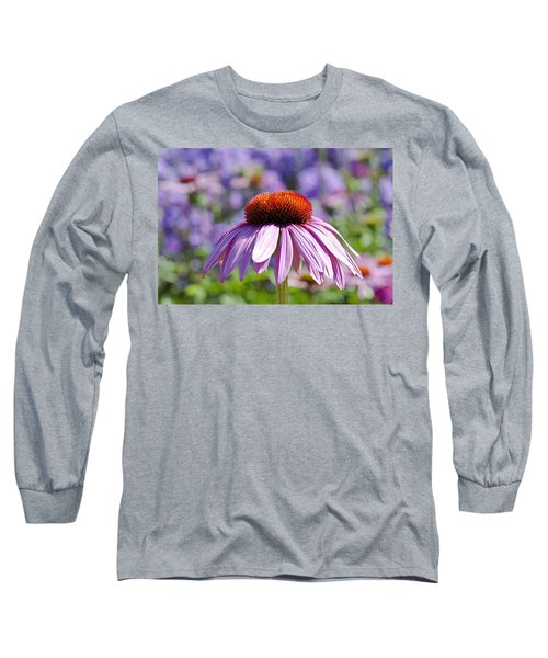 Coneflower Long Sleeve T-Shirt by Lana Enderle